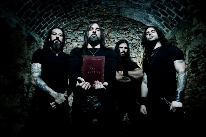 ROTTING CHRIST live stream forthcoming album 'The Heretics
