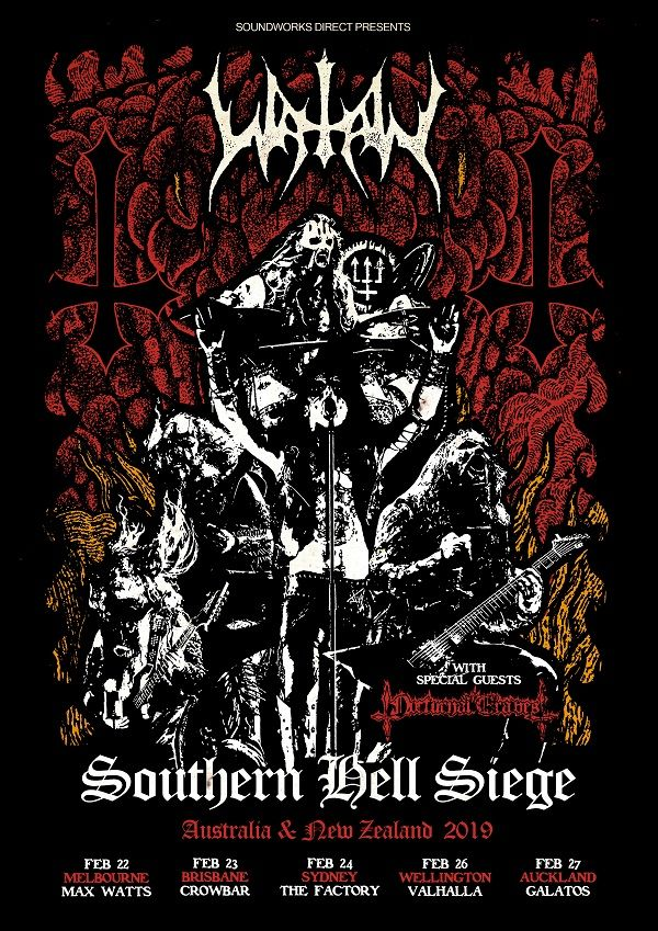 NOCTURNAL GRAVES kick off Australian tour with Watain