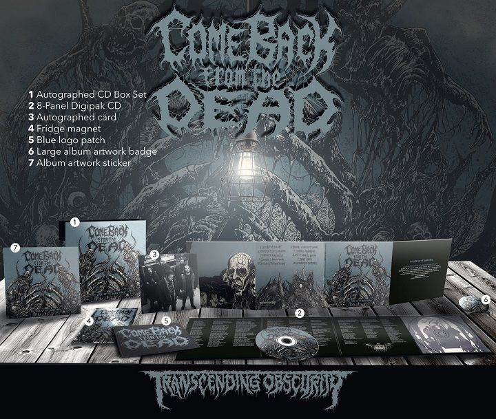 Spanish death metal freaks COME BACK FROM THE DEAD reveal