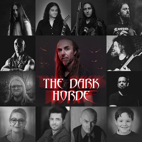 Melbourne's Heavy Metal Supergroup THE DARK HORDE Announce New Album 'The Calling' & Release New Single 'Mask'